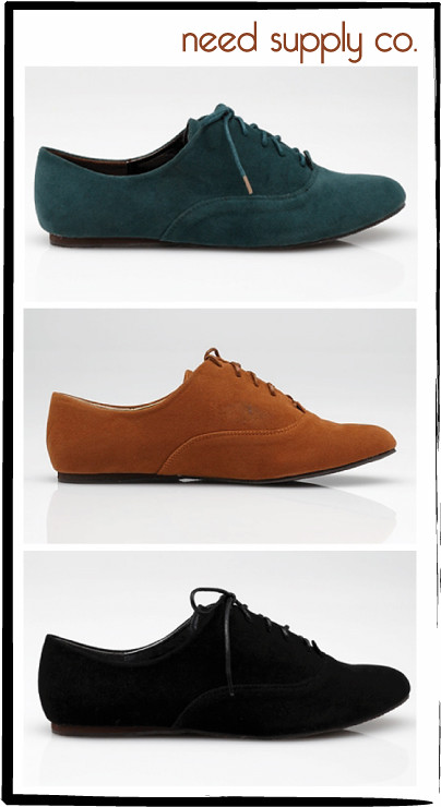 Vegan Shoes: Oxfords