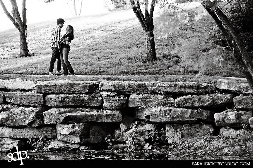 Briarcliff Village, Kansas City engagement photography