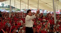 López Zavala con Peña Nieto, 05-06-10.