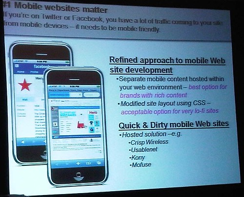 mobile friendly site slide