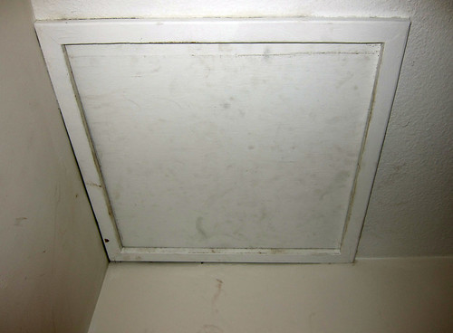 Scary Attic Hatch