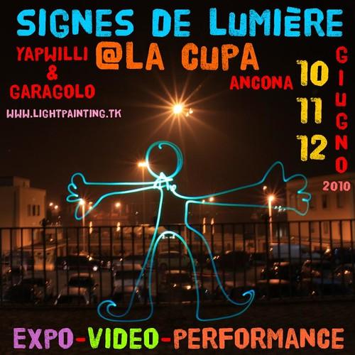 Signes de lumière @ La CUPA