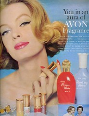 You in an aura of Avon (sugarpie honeybunch) Tags: magazine advertising 60s perfume ad cologne 1960s cosmetics avon fragrance seventeen heresmyheart persianwood