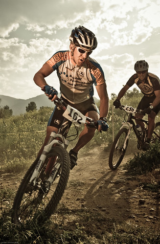 Downhill Mountain Bike Racing