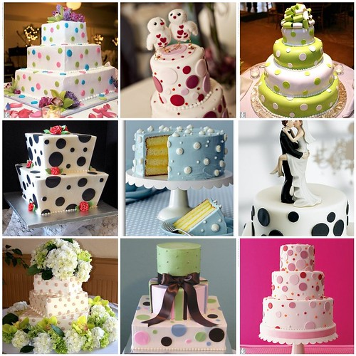 polka dot wedding cakes Resources Credits