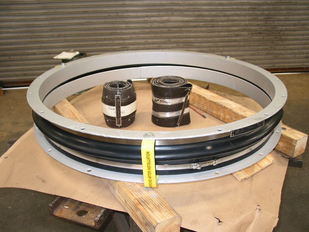 "42"" I.D. Rubber Expansion Joints for Power Plant in Texas"