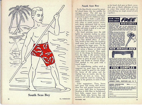 The Workbasket November 1954 - South Seas Boy