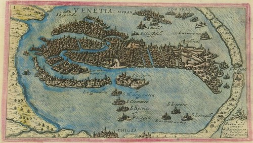 Venetia - map of Venice