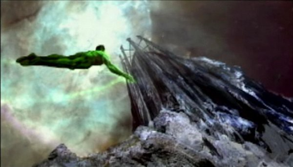 Castle mountain Green Lantern Movie