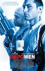 """2010最佳驚聳電影海報 - Repo Men """"One Sheet"""""""