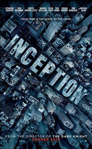 """2010最佳今年暑假賣座強片宣傳海報 - Inception """"Maze"""""""