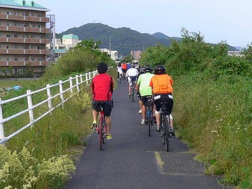 自転車トレイン