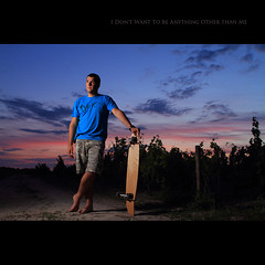 Day Hundred Forty Seven (Seb Huruguen) Tags: blue red summer portrait sky macro ex colors shirt self sunrise canon project eos board bordeaux sigma 7d ez mm af seb reds f28 dg 540 2010 quiksilver 2470mm speedlite 2470 etpa 540ez huruguen
