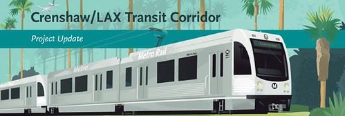 Crenshaw LAX Transit Corridor