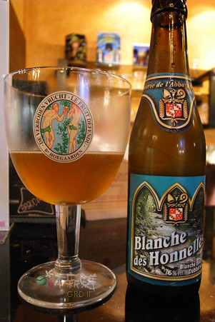 beer, blanche double
