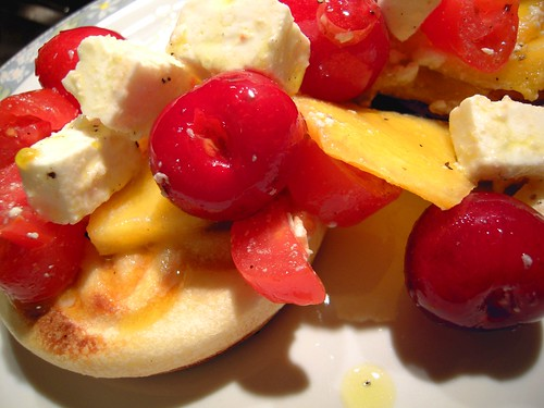 friselle formaggio e frutta