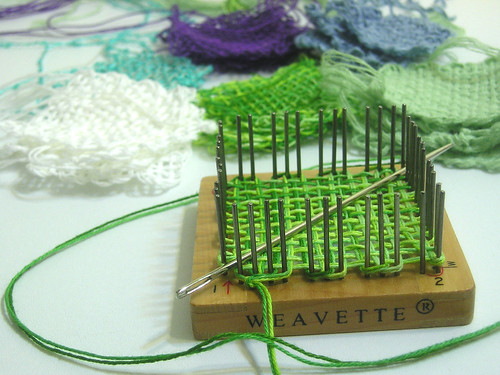 Tiny Weavette squares