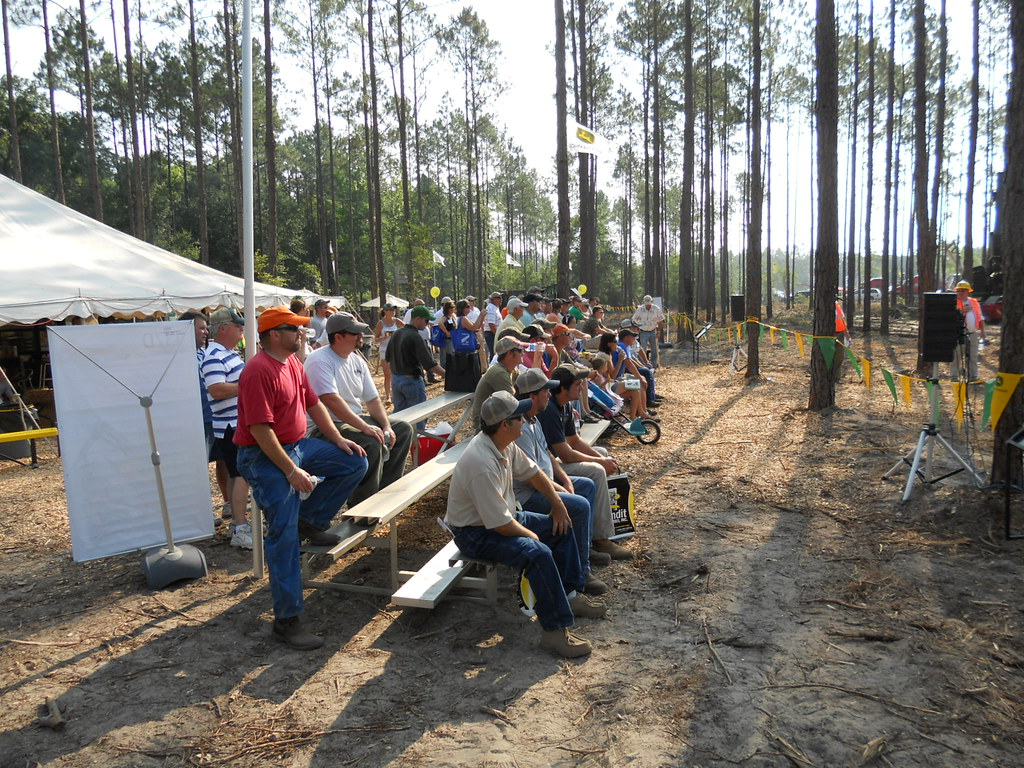 Timber & Biomass Expo - Deere Demonstration Area