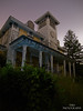 """""""I was once, a king."""" (tmdtheue) Tags: old sky moon house history abandoned beautiful night stars photography lights photo shot awesome flash historic haunted forgotten mansion manor derelict"""