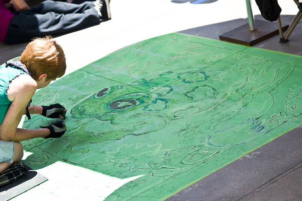 Chalk Festival Green
