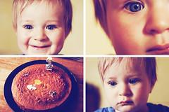 NOAM birthday 1 year (Florent Dechard) Tags: birthday boy baby love fun 50mm 1 year young f18 noam 50d
