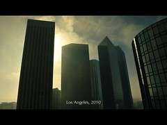 DSC_0261ct (UbiMaXx) Tags: morning travel sky usa sun building sunrise landscape la losangeles los interesting nikon downtown place angeles e3 maxx subtitle 2010 twitter d700 ubimaxx