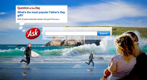 Ask.com Father's Day Logo