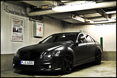 "S63 AMG ""Black Series"" *explored* (ThomvdN) Tags: germany munich mercedes benz nikon july automotive thom vr amg 2010 18105 s63 blackseries d5000 thomvdn carphotographt"