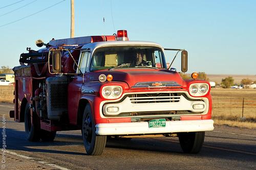 Ellicott Fire at the Mobile Home Junkyard