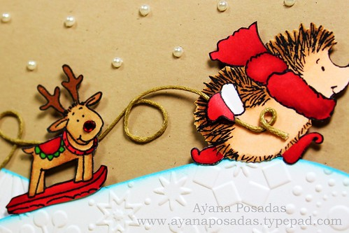 Penny Black Reindeer Card (6)