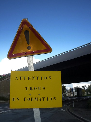 Attention, trous en formation !