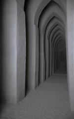 Grande mosque de  Djenne (interieur). Mali (courregesg) Tags: africa sahara architecture traditional sable terre mali djenne bulding afrique sahel mosque ouestafrica