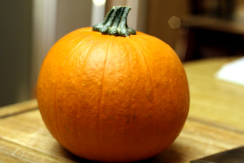 behold, the pumpkin.