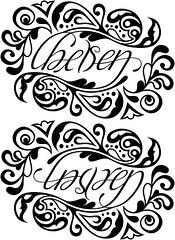 """""""Chelsea"""" & """"Lauren"""" Ambigram"""
