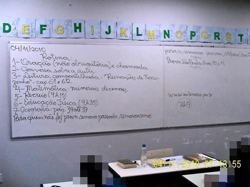 Rotina Prevista (04/11/2010)