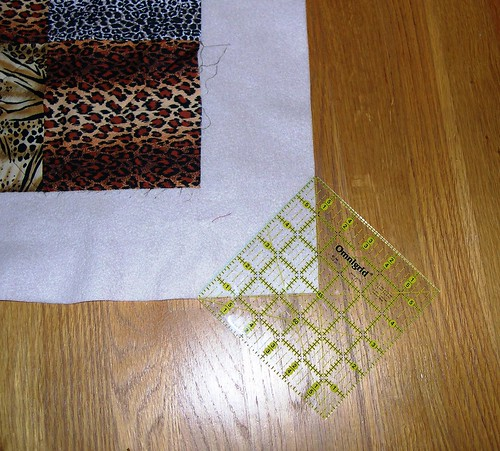 Fleece-Backed Quilt - Step 3