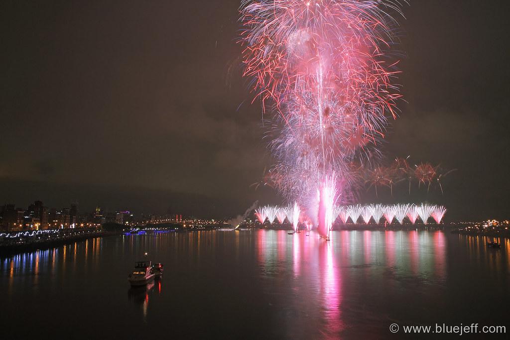 2010 Taipei Flora Expo Fireworks