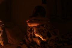 Halloween (M Mzni) Tags: light halloween sadness bed tears loneliness