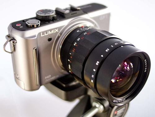 Voigtlander Nokton 25mm f/0.95 GF1