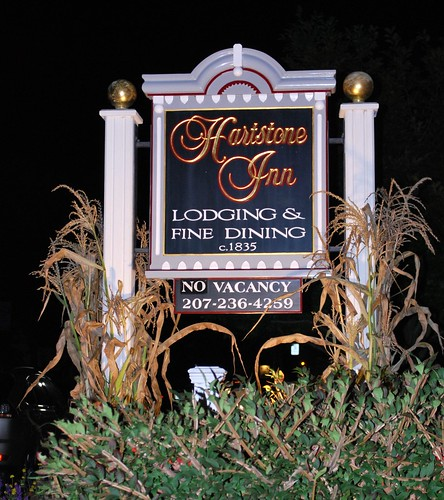 The Hartstone Inn Sign