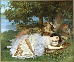 Gustave Courbet: Les demoiselles des bords de la Seine (1856-57) (petrus.agricola) Tags: paris les seine de la des palais petit courbet gustave bords demoiselles