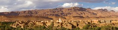The Other Side (Joko-Facile) Tags: city panorama mountains berge stadt atlas marocco marokko tinghir afanour