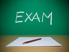 Exam (ikmkuchingsted) Tags: school test color college horizontal pen paper chalk high education university message classroom desk interior object nobody class indoors study research blank knowledge educational form write lesson chalkboard teach exam blackboard primary educate learn elementary academic fill nutrition examination