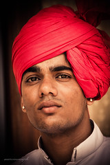 Portrait Rajasthani (marvincasiple photography) Tags: people portrait canon1100d indian rajasthani southasian pagari turban jaipur india