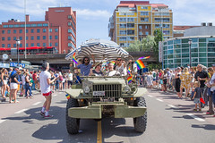 Pride 2017 (morten f) Tags: pride oslo norge norway street photography parade gay rights homo 2017 city people color tog happy colour flag rainbow regnbue jeep army grønland vaterlandsbrua
