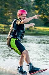 Omnia Cable Ski-0157 (~.Rick.~) Tags: cableski carbrook friends kneeboard omniagroup qld queensland seq team excitement fun ski water australia au