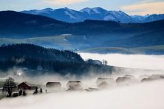 fog (Amir Guso) Tags: travel austria fog nebel landscape clouds hiking wandern specland