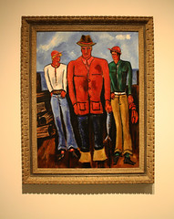Marsden's Hartley's Maine - The Met Breuer (ktmqi) Tags: metropolitanmuseumofart madisonavenue marsdenhartley artmuseum exhibition themetbreuer brutalist architecture modern whitneymuseum building paintings marcelbreuer uppereastside