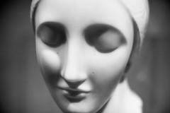Early Ideal Head (Thomas Hawk) Tags: america earlyidealhead elienadelman forestpark missouri mo museum saintlouisartmuseum stlouis usa unitedstates unitedstatesofamerica artmuseum bw sculpture fav10