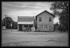 Bureau Junction, Illinois (bob zdeb f.00010110) Tags: bureau junction illinois fotodiox bar building rural midwest